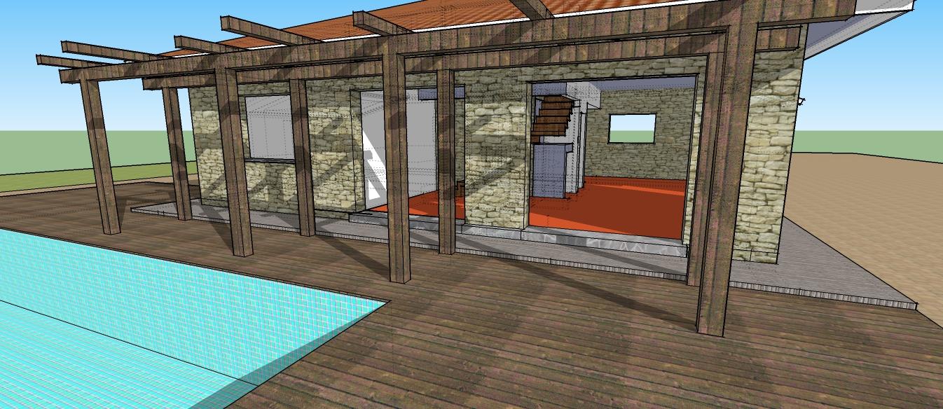 Toskanisches Haus mit Pool